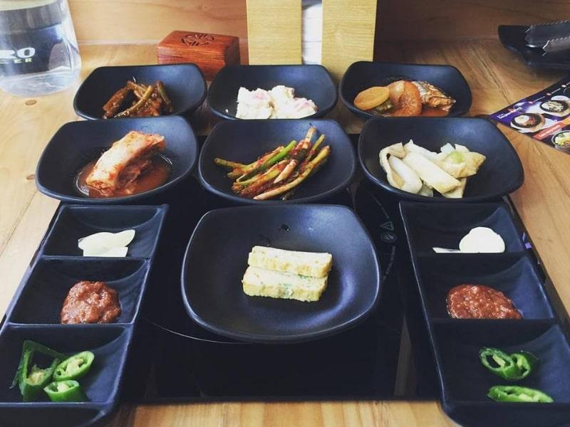 Bát đĩa men đen Hàn Quốc