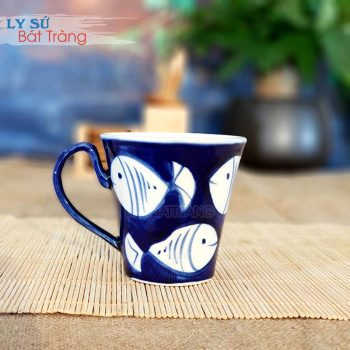 Tách đựng trà lipton bằng sứ CSM-M91