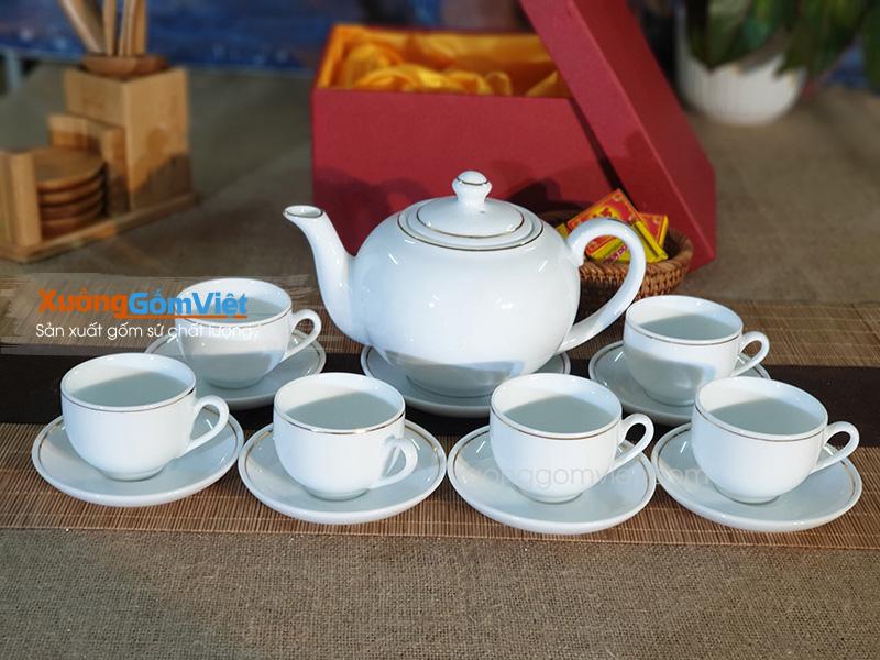 Bộ trà quai lượn ATK