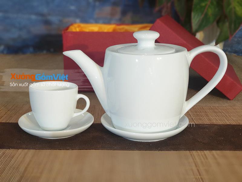 Bộ trà dáng thùng AT-56