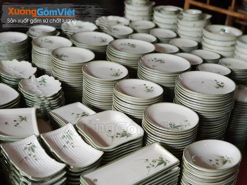 Những bộ bát đĩa chất lượng cao luôn nhận được sự yêu thích của người tiêu dùng