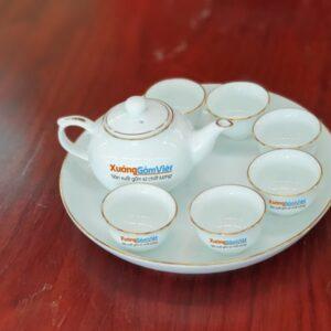 Bộ trà Mini chỉ vàng AT-20