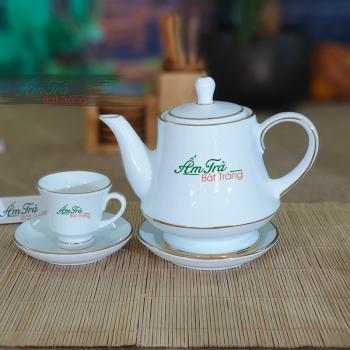 Bộ trà hoàng gia trơn