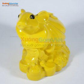 Ống tiết kiệm hình chuột bệ vàng