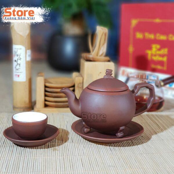Bộ ấm trà và hộp xi quà tặng ATS-82