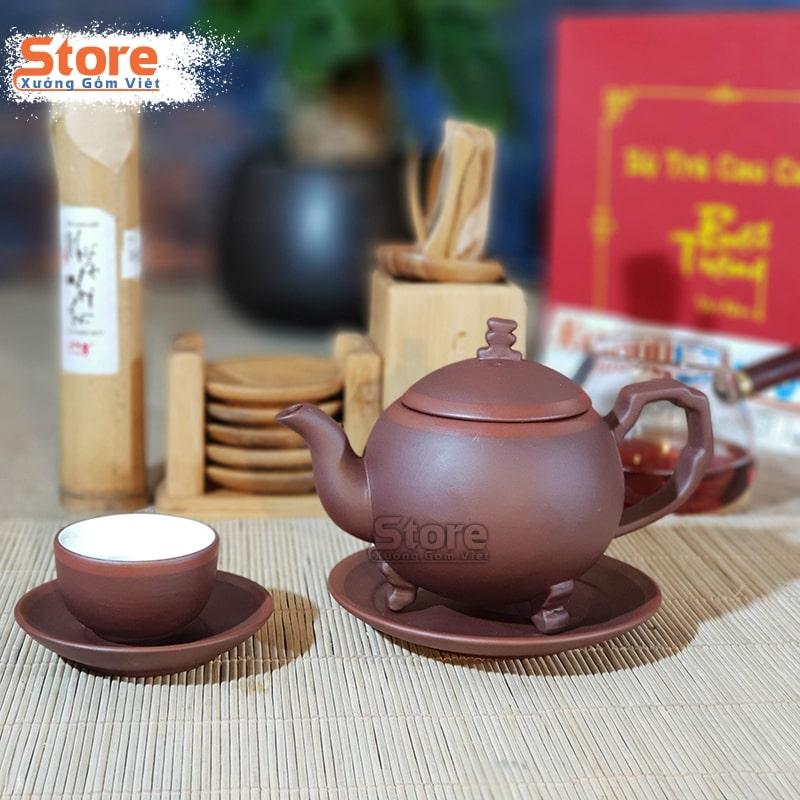 Bộ ấm trà và hộp xi quà tặng ATS-81