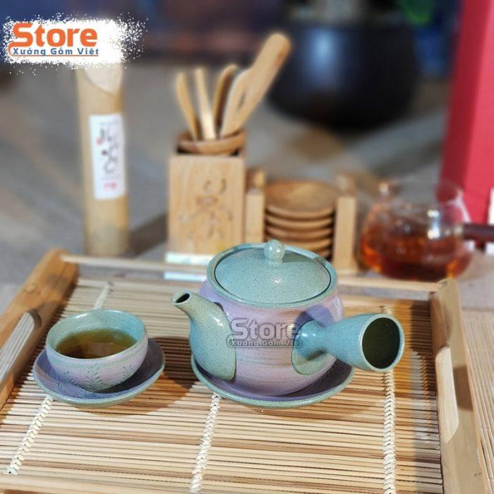Bộ ấm chén uống trà đẹp ATS-92