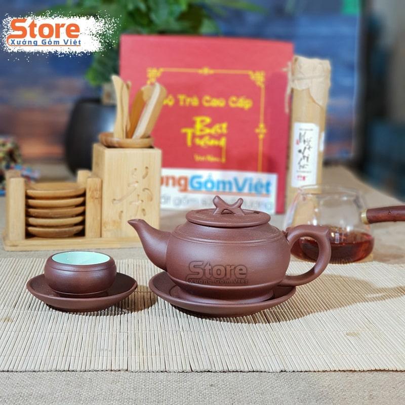 Bộ trà gốm Tử Sa cao cấp ATS-86