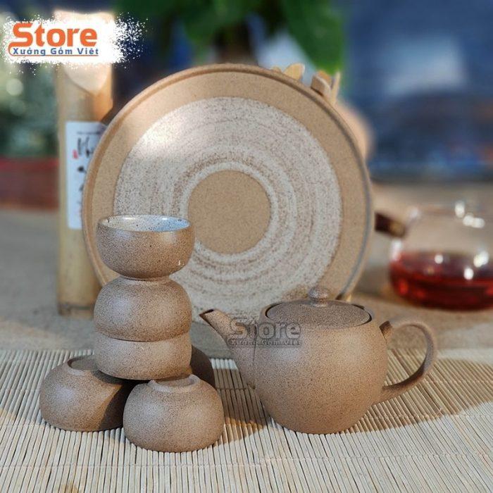 Bộ trà Hồng Sa mini đẹp ATS-70