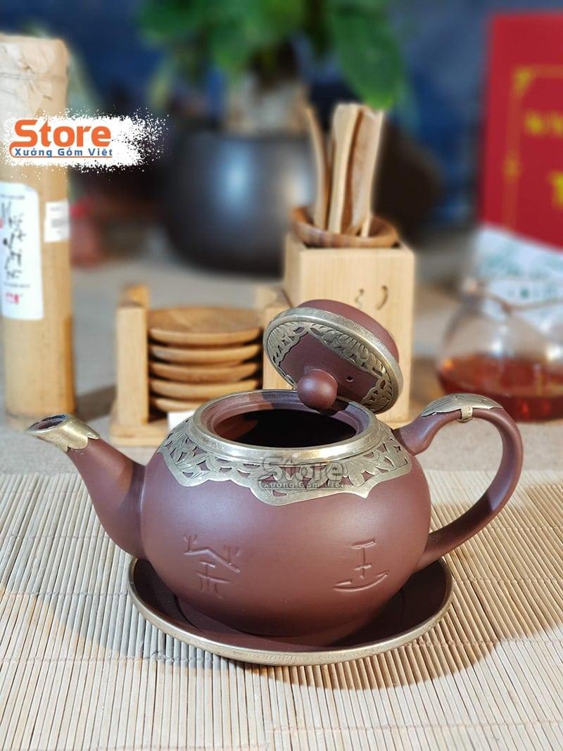 Bộ ấm trà Tử Sa cao cấp ATS-67