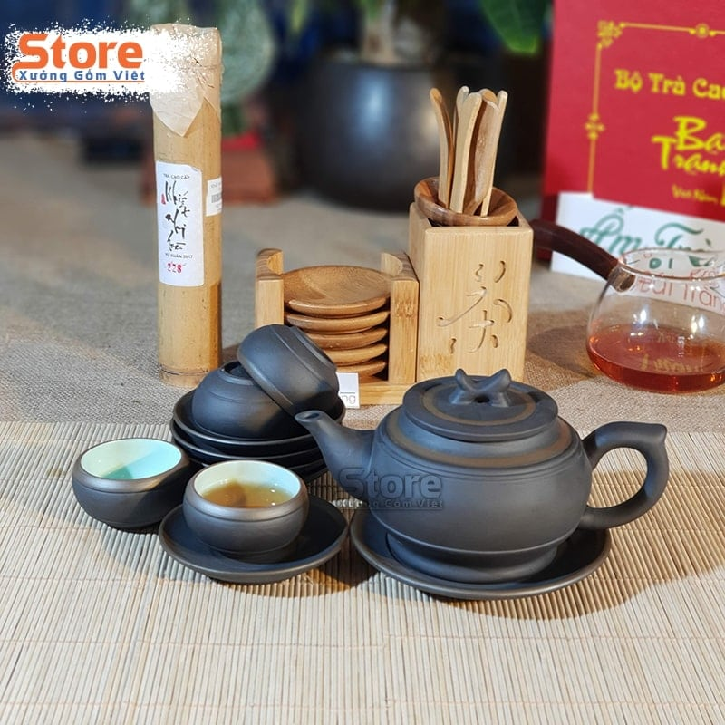 Bộ trà Tử Sa Bát Tràng đẹp