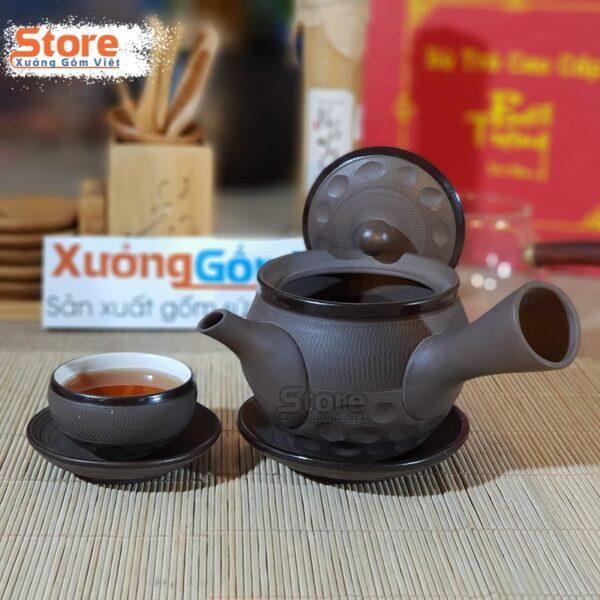 Bộ trà quai ngang kiểu Nhật ATS-87