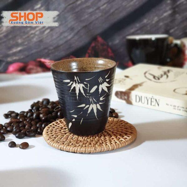 Ly pha trà gốm sứ Bát Tràng CSM-M114