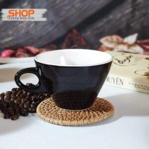 Ly cà phê bằng sứ dễ thương CSM-M85