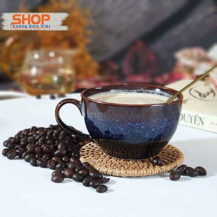 Bộ đĩa và ly uống cà phê đẹp CSM-M76