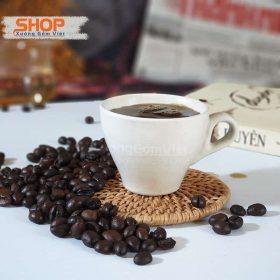 Tách sứ trắng espresso quai dày CST-M19