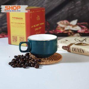 Bộ tách Cappuccino và đĩa sứ CVK-M79