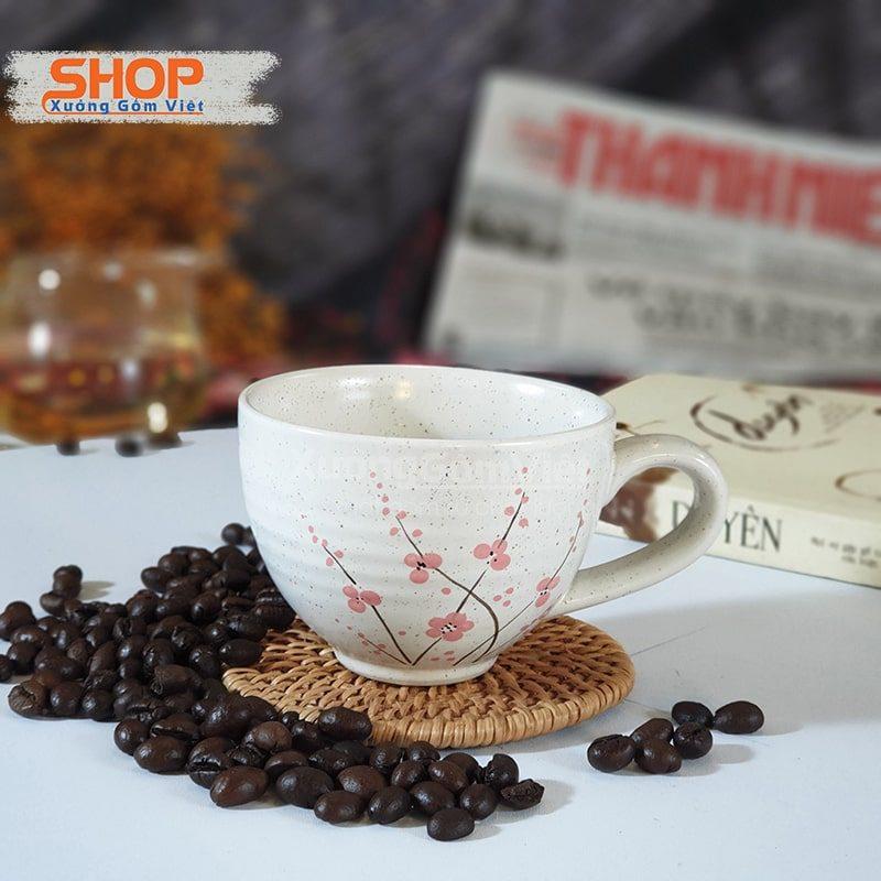 Tách cafe cappuccino sứ đẹp CSM-M87