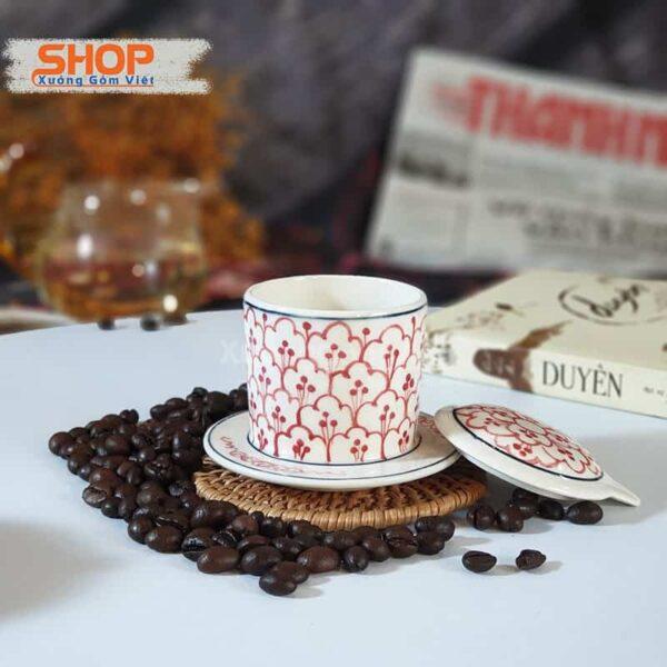 Combo tách liên phin cà phê đẹp CSM-M96