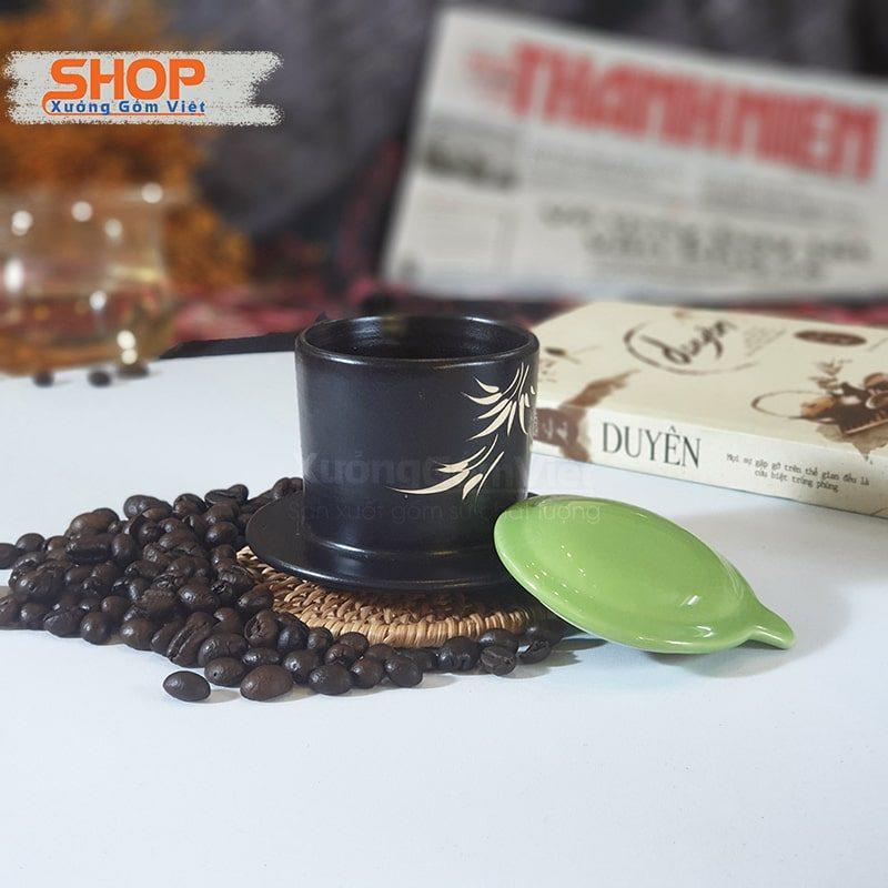 Bộ tách liền phin cafe sứ độc đáo CSM-M94