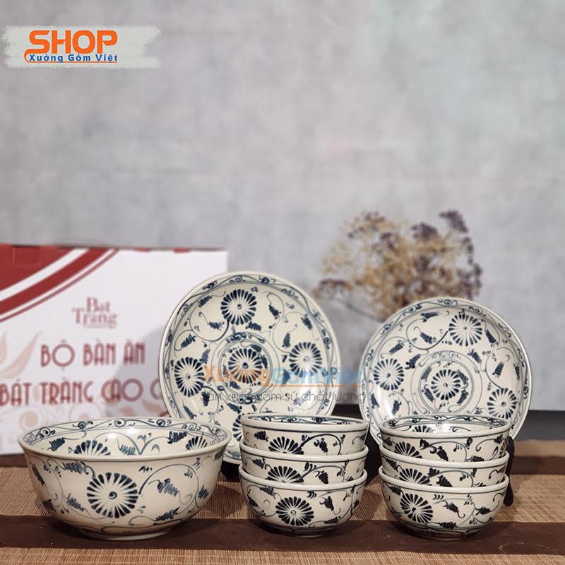 Bộ chén dĩa bàn ăn từ gốm sứ đẹp BD9-04