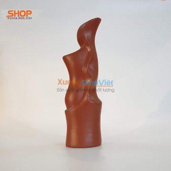 Lọ hoa gốm Bát Tràng đẹp giá rẻ BHG-01