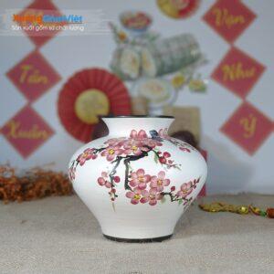 Bình hoa trang trí làm quà tặng đẹp BHG-10
