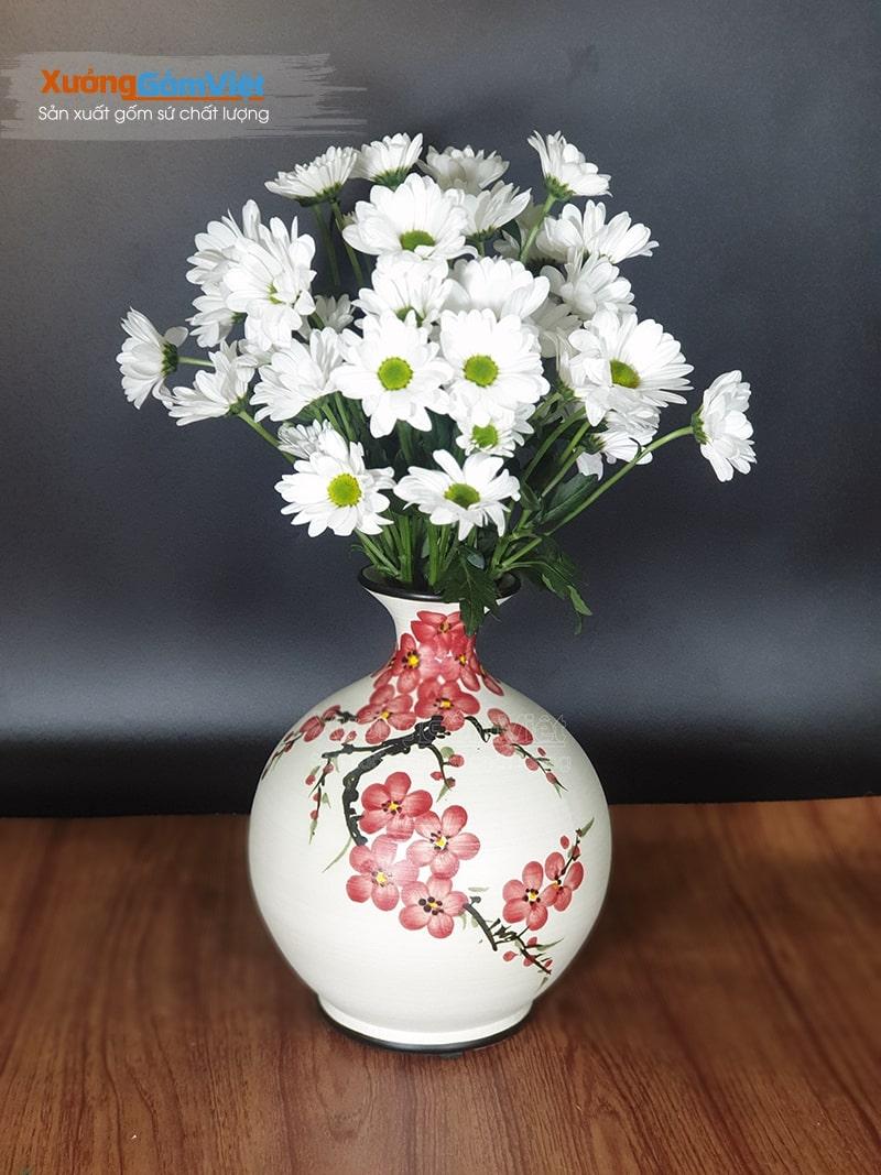 Lọ cắm hoa in logo làm quà tặng đẹp BHG-08