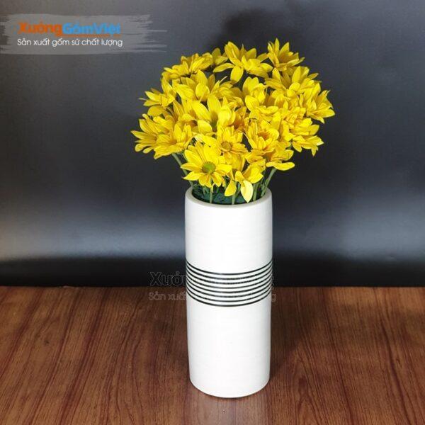 Lọ hoa in logo quà tặng khách hàng BHG-24