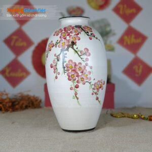 Lọ hoa gốm sứ làm quà tặng độc đáo BHG-25