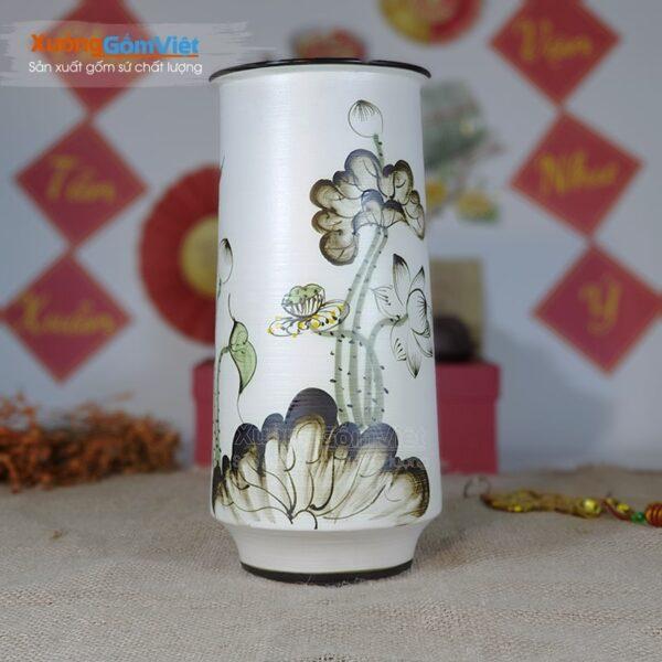 Bình hoa Tết đẹp từ gốm Bát Tràng BHG-28
