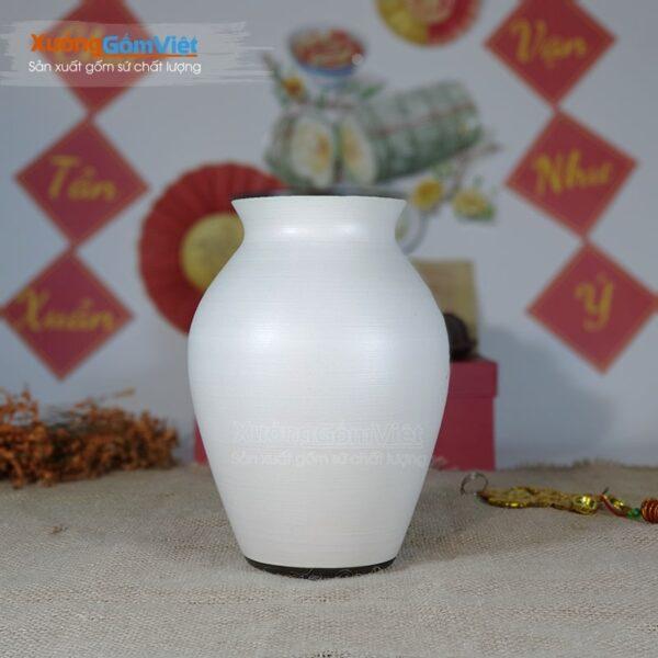 Bình cắm hoa nghệ thuật bằng gốm BHG-15