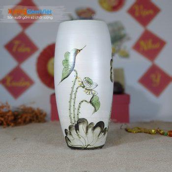 Bình gốm cắm hoa để bàn đẹp giá rẻ BHG-12