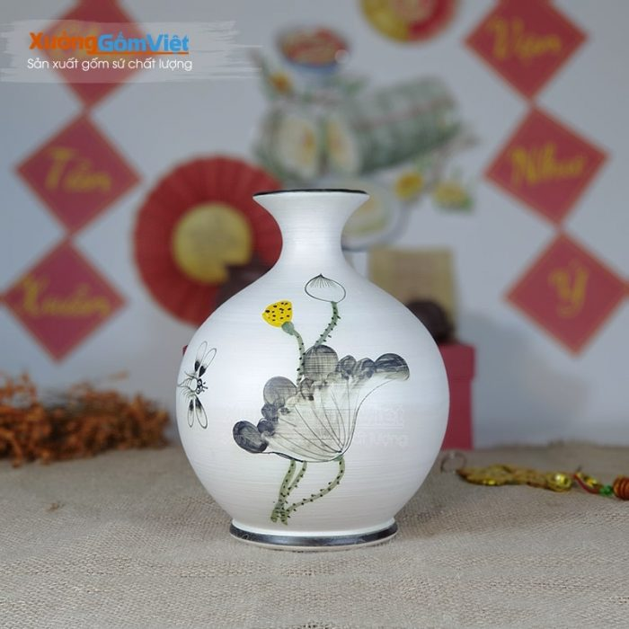 Bình hoa trang trí nội thất đẹp giá rẻ BHG-11