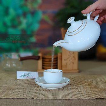 bộ ấm trà sang trọng