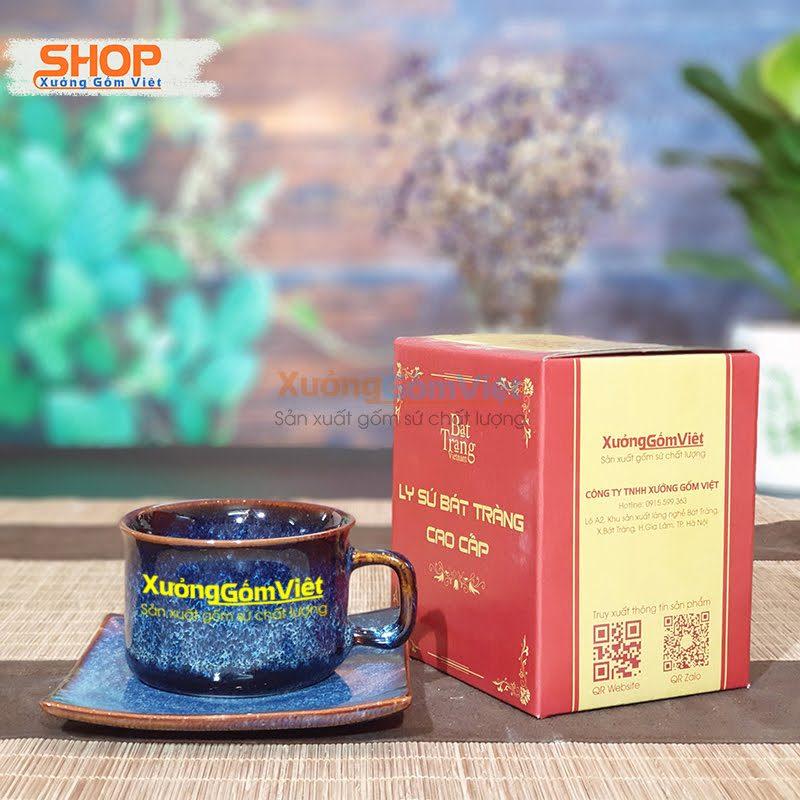 Tách cà phê và dĩa tuyệt đẹp CSM-M75