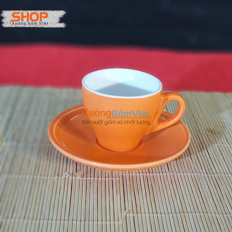 Ly Espresso sứ Bát Tràng CSM-12