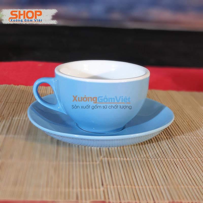 Ly cà phê Capuchino Bát Tràng CMS-M37.4