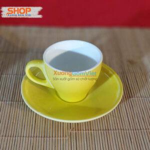 Ly sứ cà phê Espresso đẹp CSM-M33.4
