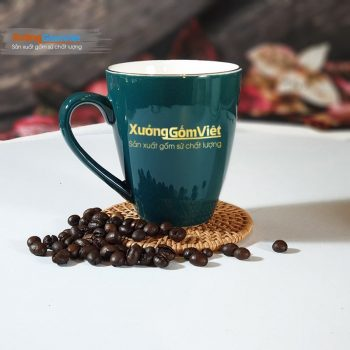 Ca sứ uống trà cà phê độc đáo CVK-M81