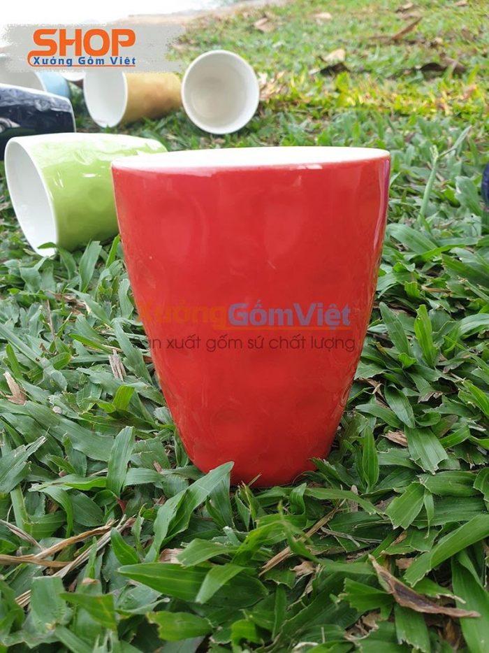 Ly cốc sứ Bát Tràng cao cấp CSM-M26.7
