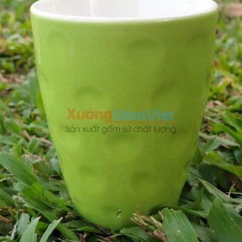 Ly cốc uống nước bằng sứ đẹp CSM-M26.5