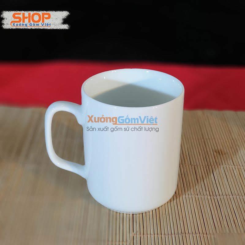 Ly sứ trắng uống trà, cà phê CST-M54
