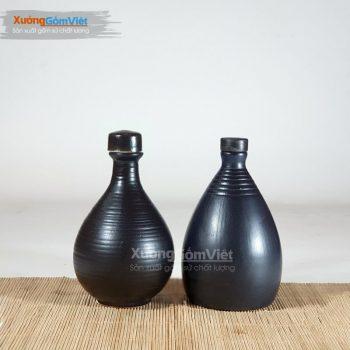 Nậm rượu 500ml Bát Tràng NR-35