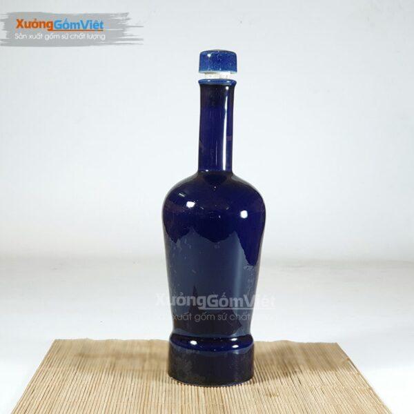 Nậm rượu sứ đẹp 750ml NR-20