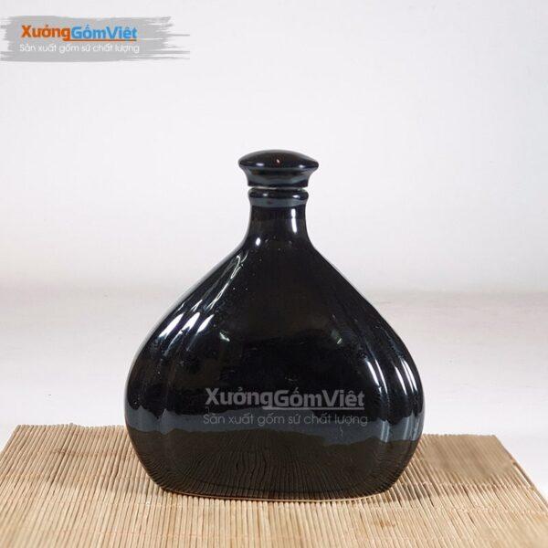 Bình rượu đẹp sứ Bát Tràng NR-30