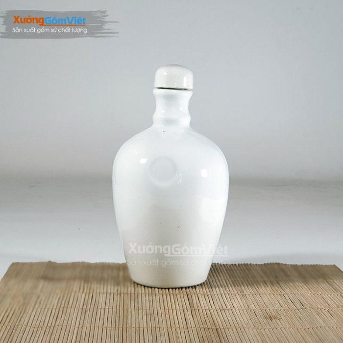 Bình sứ đựng rượu 600ml NR-14