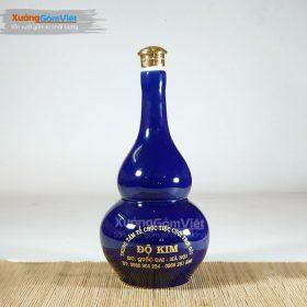 Bình sứ đựng rượu hồ lô NR-07