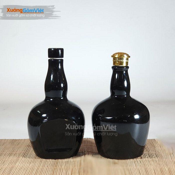 Bình đựng rượu bằng sứ NR-10