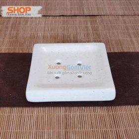 Khay sứ để xà phòng bánh PKNT-99